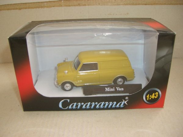 Cararama 251052 1/43 Scale Minivan Mini Van Green Brown Limeflower Mustard ?